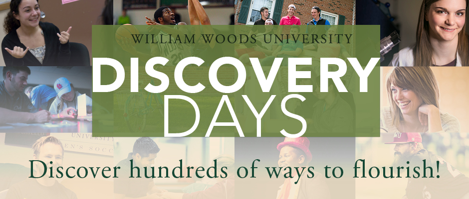 Discover William Woods Discovery Days!