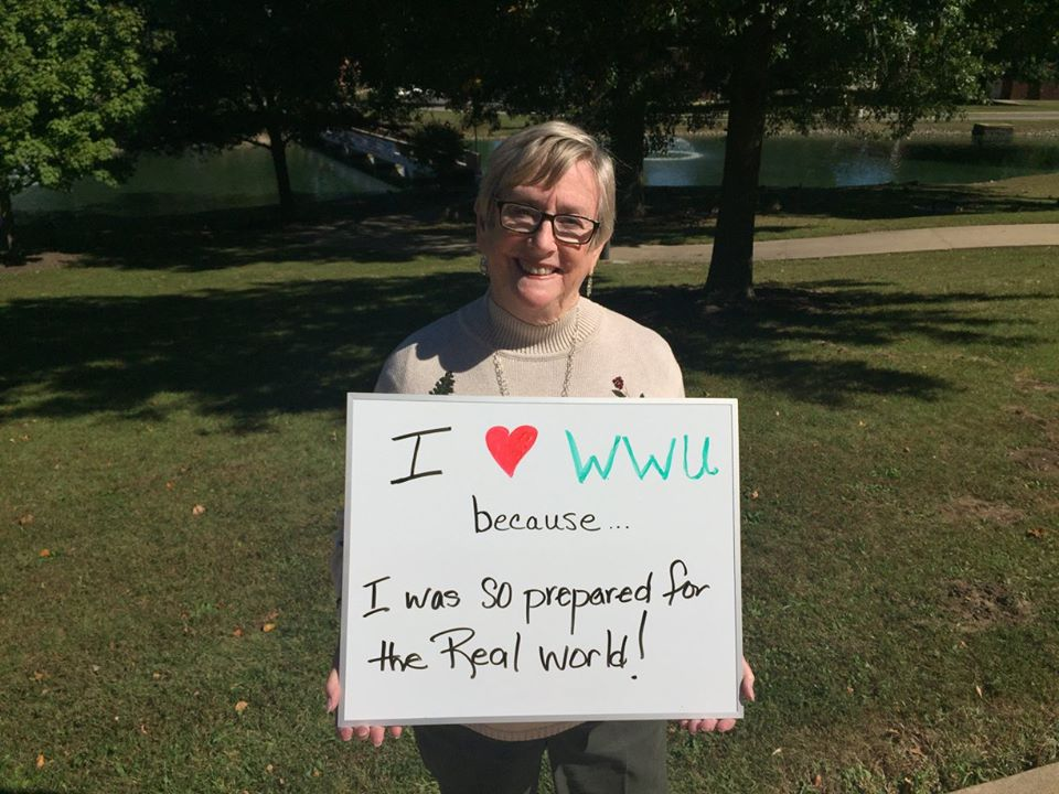 Gail Emmos Kurtz - I love WWU because I was so prepared for the real world!