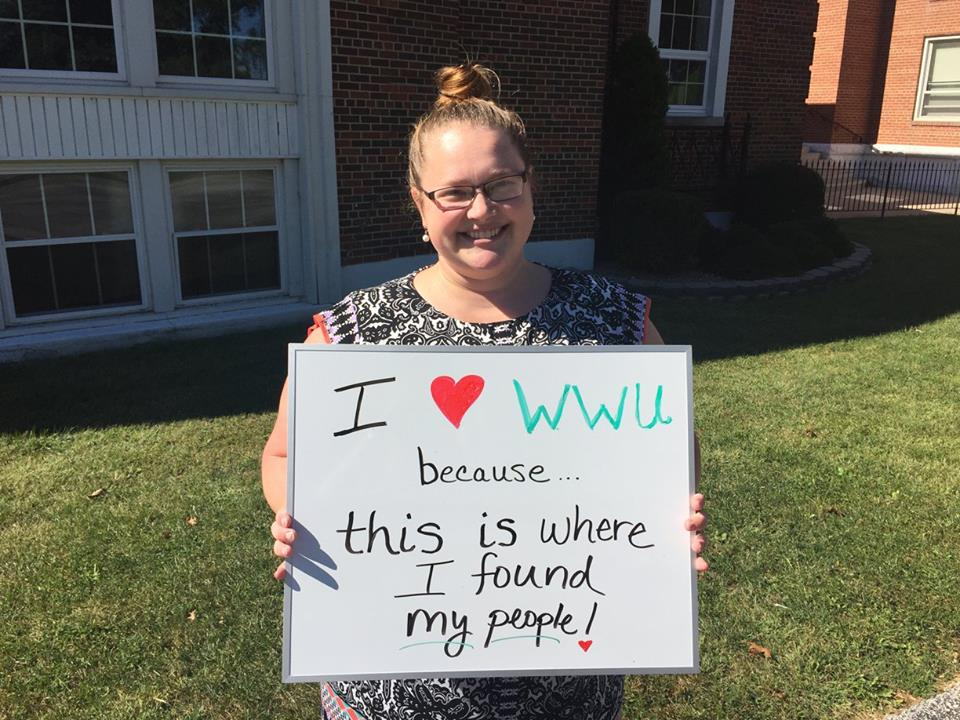 Katherine Wortmann - I love WWU because this is where I found my people!