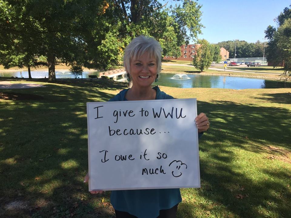 Martha Hutchins Cockerell - I give to WWU because I owe it so much!
