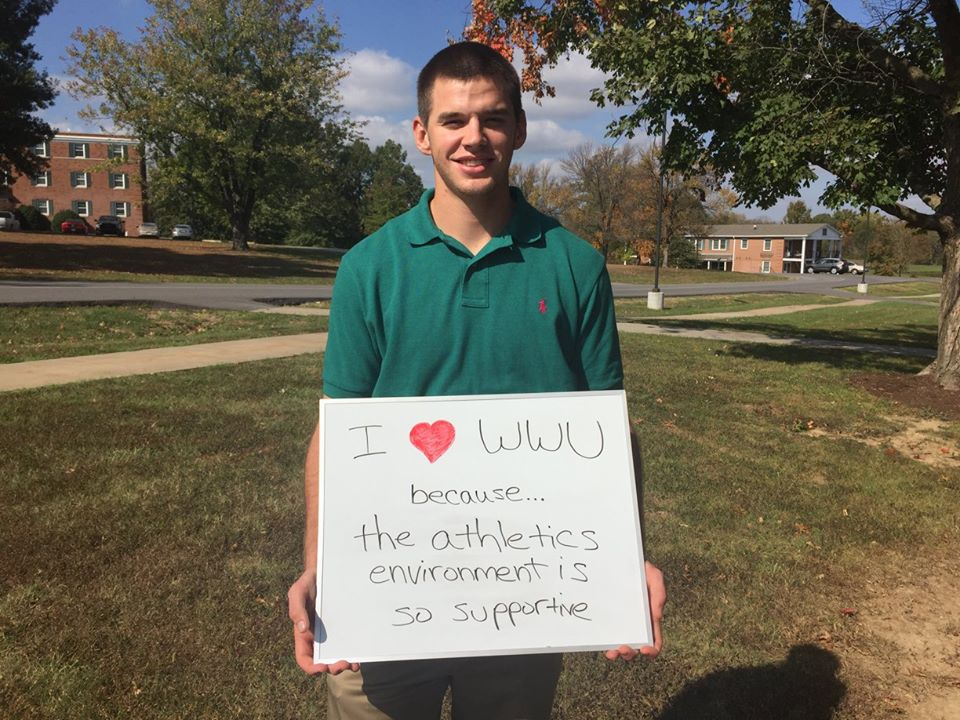 Ryan Schmidt - I love WWU because the Athletics environment is so supportive!