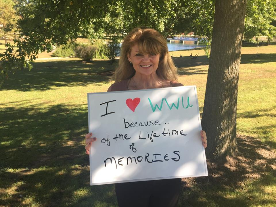 Sandi Henderson I love WWU because of the lifetime of memories!