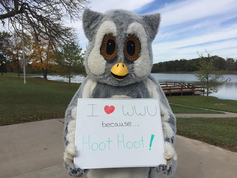 I love WWU because Hoot! Hoot!