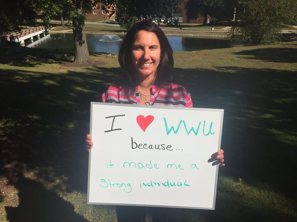 I love WWU because it made me a strong individual!